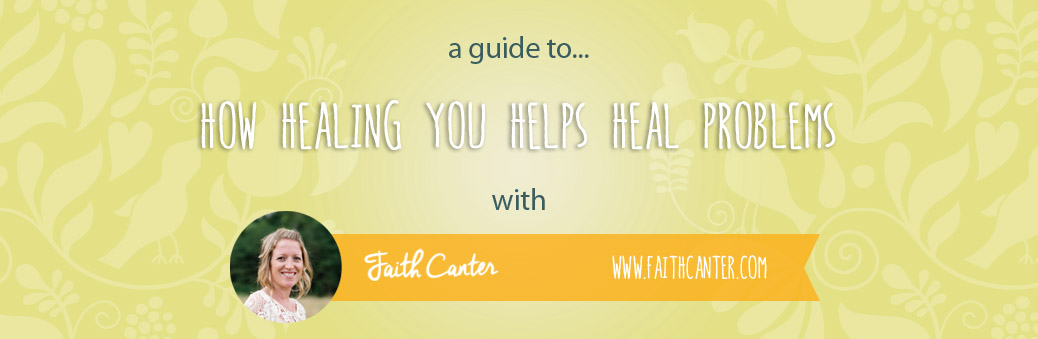 How Healing You Helps Heal Problems