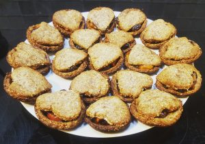 No-Naughty Vegan, Free-From Mince Pies