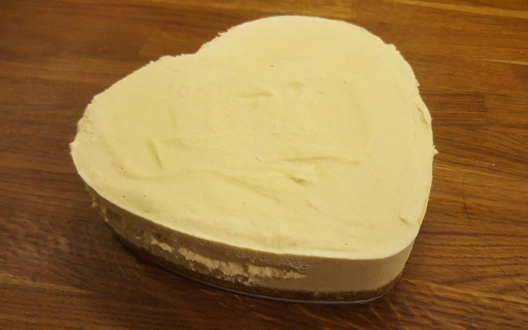 Raw Vegan Ginger & Pineapple Cheesecake