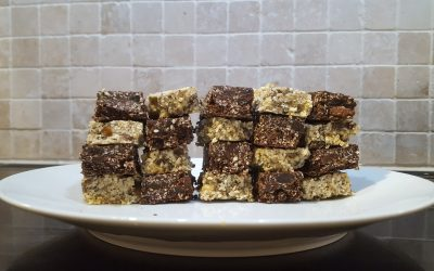 Raw Vegan Sesame Seed Flapjacks