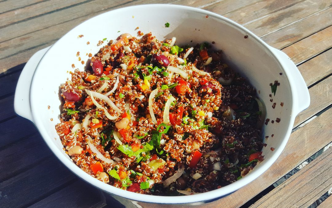 Spicy Bean & Quinoa Salad