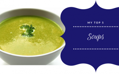 My Top 5 Soup Recipes…