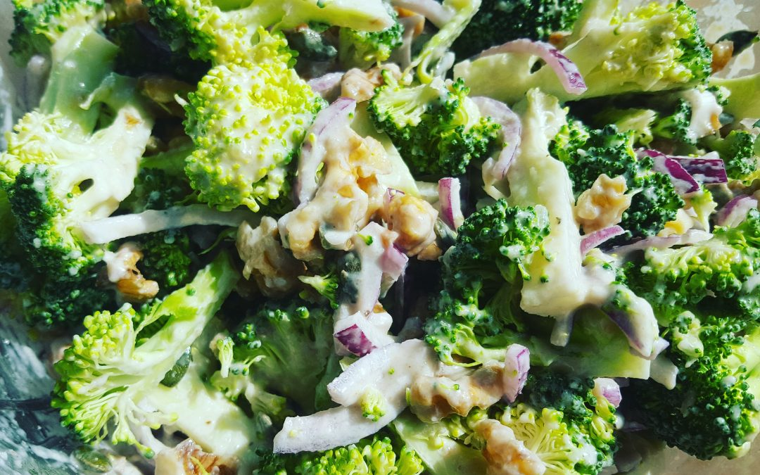 Protein Packed Broccoli Salad