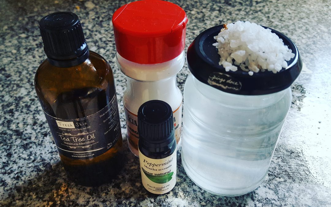 Healthy, Homemade Mouthwash Recipe