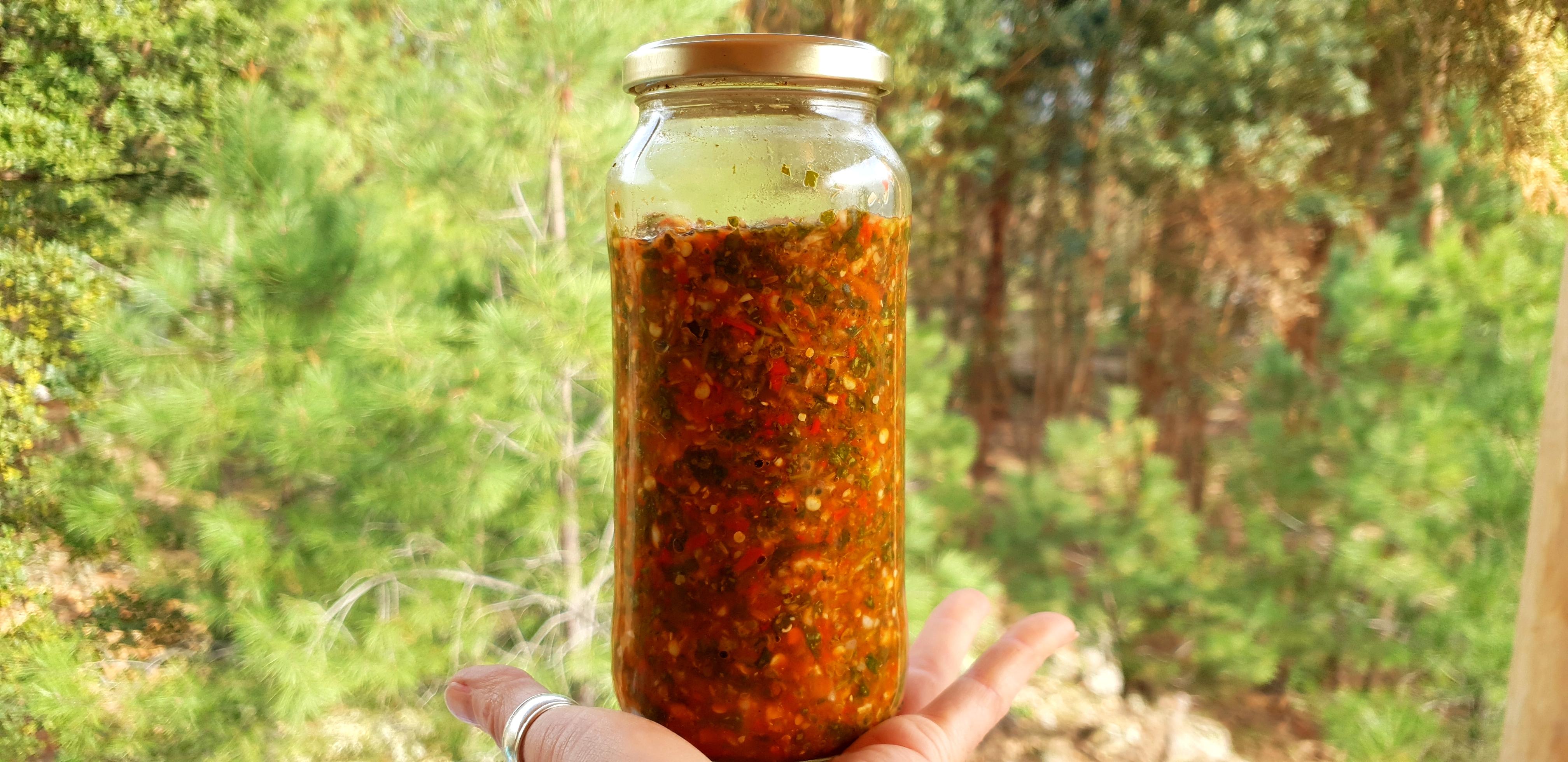 Fermented Zhug Recipe