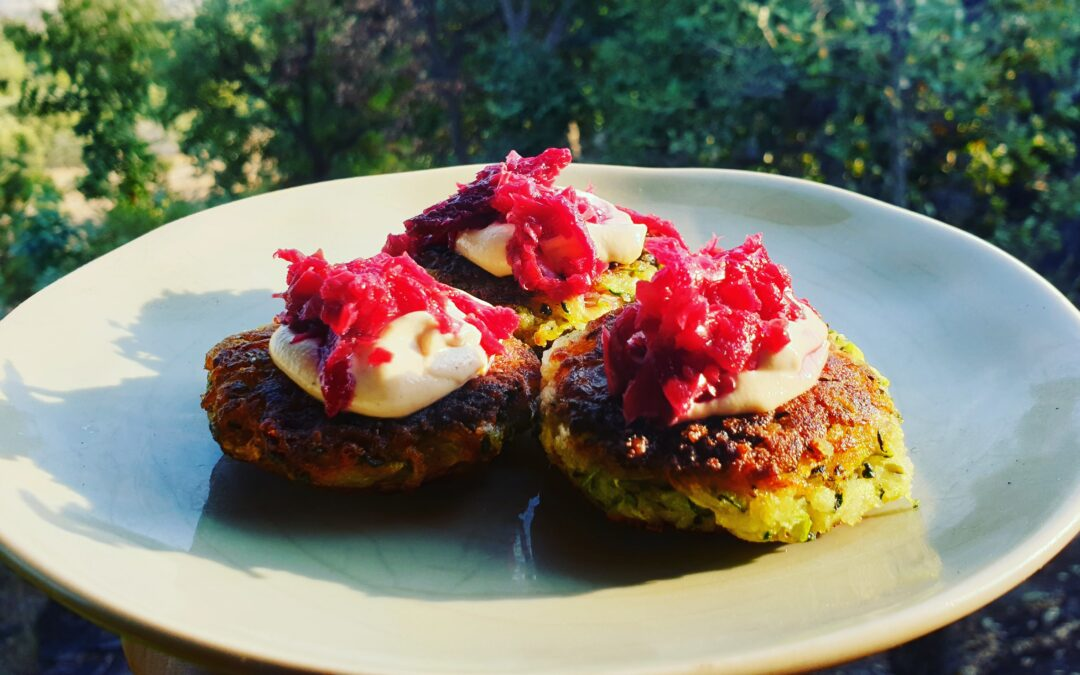Free-from Courgette Fritter Recipe